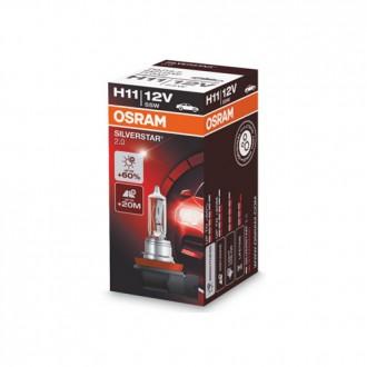 Автолампа / крушка OSRAM H11 64211SV2 SILVERSTAR 2.0 12 V / 55W