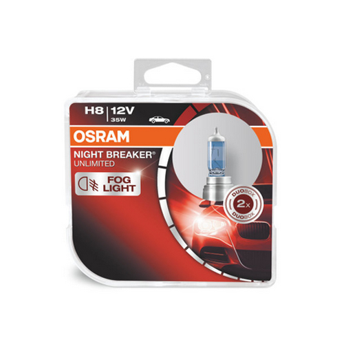 Автолампа / крушка OSRAM H8 64212NBU NIGHT BREAKER UNLIMITED Duobox 12 V / 35W