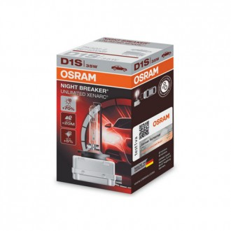 Автолампа / крушка ксенон OSRAM Xenarc NIGHT BREAKER UNLIMITED D1S 66140XNB 85V / 35W