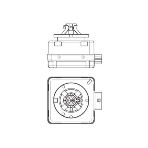 Автолампа / крушка ксенон OSRAM Xenarc Original D3R 66350 42V / 35W