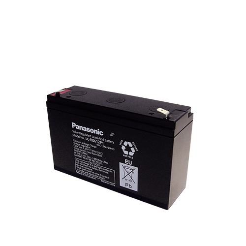 Акумулатор Panasonic LC-R0612P1 - 12 Ah / 6 V