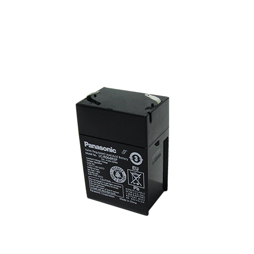 Акумулатор Panasonic LC-R064R5P - 4.5 Ah / 6 V