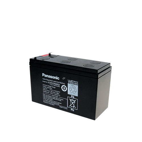 Акумулатор Panasonic LC-R127R2PG - 7.2 Ah / 12 V
