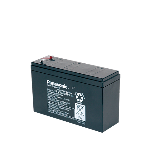 Акумулатор Panasonic UP-VWA1232P1 - 6.7 Ah / 12 V