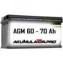AGM Акумулатори 60 - 70 Ah