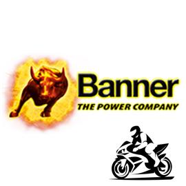 BANNER Акумулатори за мотори, АТВ-та, джетове и моторни шейни