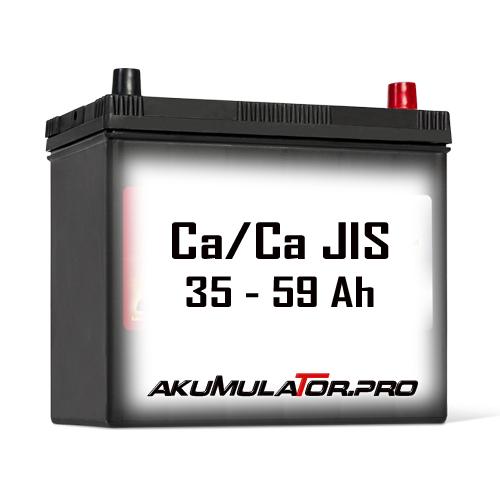 Ca/Ca Акумулатори JIS 35 - 59 Ah