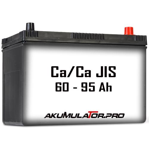 Ca/Ca Акумулатори JIS 60 - 95 Ah