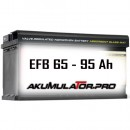 EFB Акумулатори 65- 95 Ah