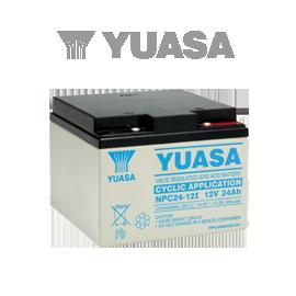 YUASA VRLA батерии за хоби и развлечение