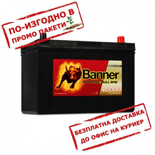 Акумулатор BANNER RUNNING BULL EFB JIS 59515  95Ah 760A R+