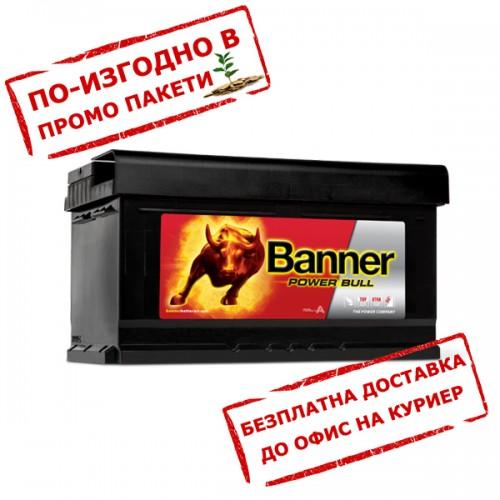 Акумулатор BANNER PowerBull P8014 80Ah  700A 175mm R+