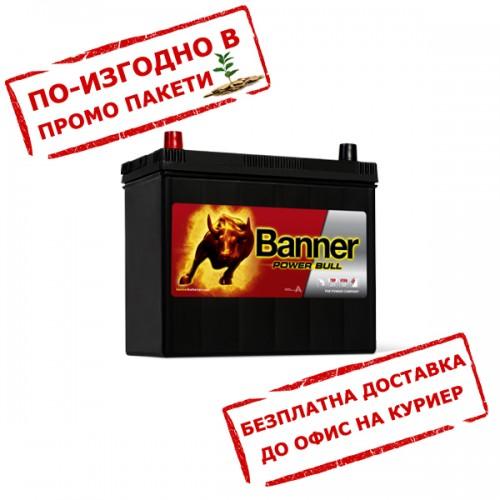 Акумулатор BANNER PowerBull P4524 JIS 45Ah 390A L+