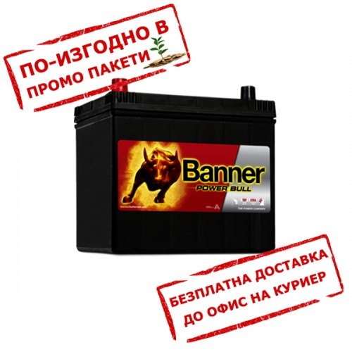 Акумулатор BANNER PowerBull P6069 JIS 60Ah 510 L+
