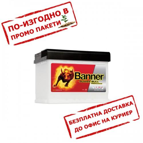 Акумулатор BANNER PowerBull PRO P5040 50Ah  420A 190mm R+