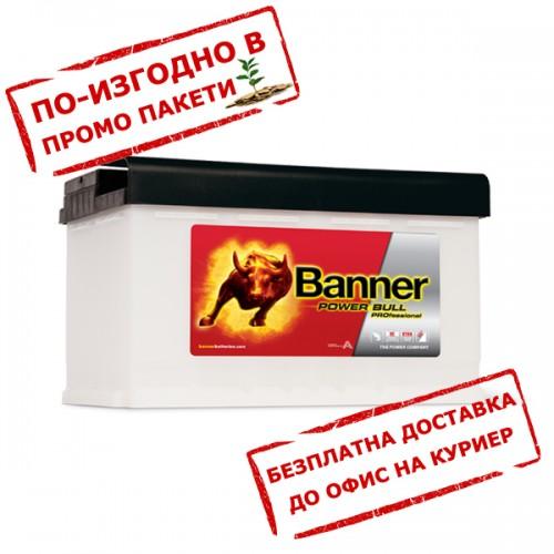Акумулатор BANNER PowerBull PRO P8440 84Ah 720A 190mm R+