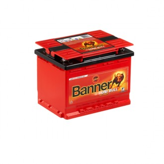 Акумулатор BANNER UniBull 50200 - 58 Ah - 4 полюса