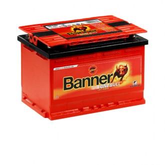 Акумулатор BANNER UniBull 50500 - 80 Ah - 4 полюса
