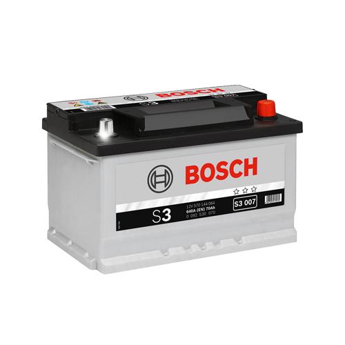 Акумулатор BOSCH S3 0092S30070 - 70 Ah R+