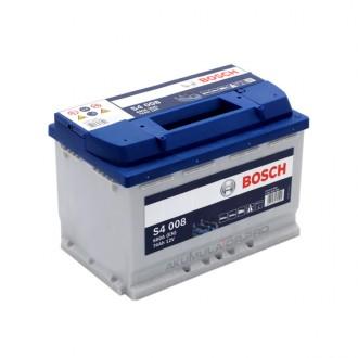 Акумулатор BOSCH S4 0092S40080 - 74 Ah R+