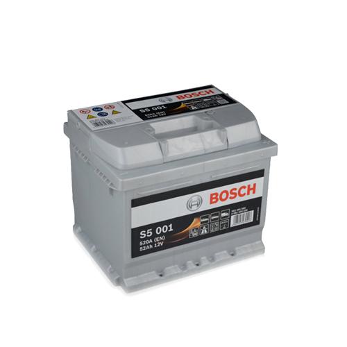 Акумулатор BOSCH S5 0092S50010 - 52 Ah R+