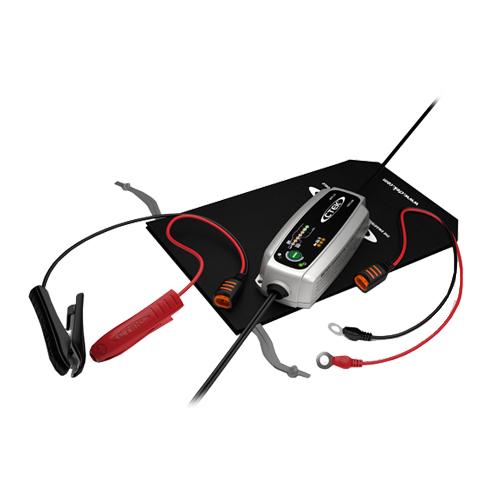 Зарядно CTEK MXS 3.8 3.8A 12V с акумулатор BANNER 63Ah 620А R+