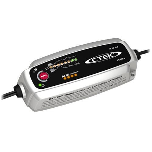 Зарядно CTEK MXS 5.0 5A 12V с акумулатор ELECTRA 72Ah 680 A R+