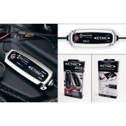 Зарядно CTEK MXS 5.0 5A 12V с акумулатор VARTA Sylver Dynamic 100Ah 830A 190mm R+