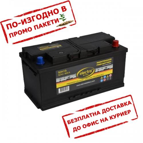 Акумулатор ELECTRA 92H19 92 Ah 800A R+