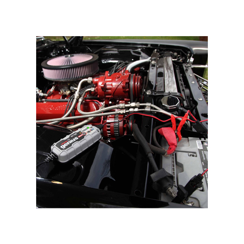 Зарядно NOCO G1100 3.5A 6/12V с акумулатор BANNER 63Ah 600А R+