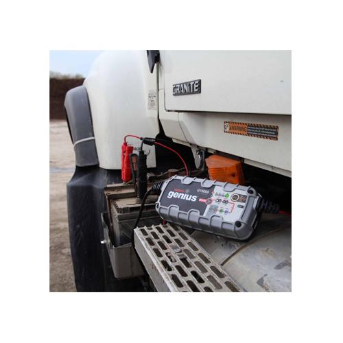 Акумулатор AGM BANNER  92Ah 850A + зарядно NOCO G15000 12/24V 15A