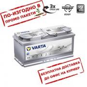 Акумулатор VARTA AGM 105Ah 950A R+