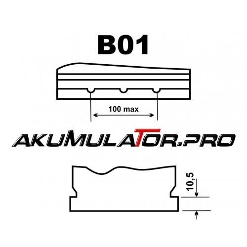 Акумулатор BANNER PowerBull P4025 (JIS/Asia R+) - 40 Ah