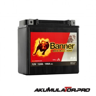 Акумулатор BANNER YTX14-BS 12V 12Ah L+