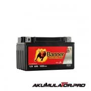Акумулатор BANNER YTX7A-BS 12V 6Ah L+