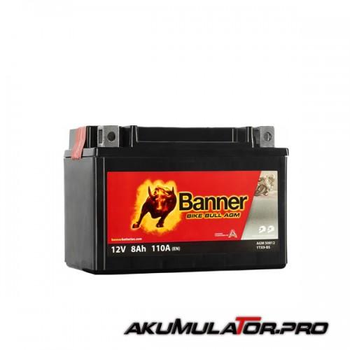 Акумулатор BANNER YTX9-BS 12 V 8Ah L+