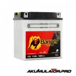 Акумулатор BANNER YB10L-B 12V 11Ah R+