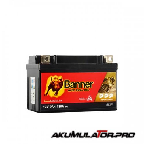 Акумулатор BANNER GTZ10-4 12V 9Ah L+