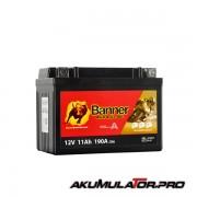 Акумулатор BANNER GTZ14-4 12V 11Ah L+