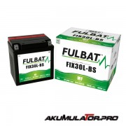 Акумулатор FULBAT FIX30L-BS 12V 30Ah R+