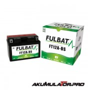 Акумулатор FULBAT FT12A-BS 12V 10Ah L+
