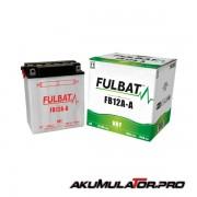 Акумулатор FULBAT FB12A-A 12V 12Ah L+