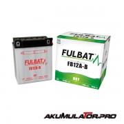 Акумулатор FULBAT FB12A-B 12V 12Ah L+
