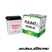 Акумулатор FULBAT FB12AL-A2 12V 12Ah R+