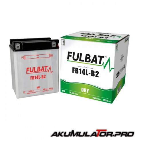 Акумулатор FULBAT FB14L-B2 12V 14Ah R+