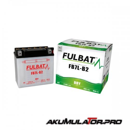Акумулатор FULBAT FB7L-B2 12V 8Ah R+
