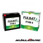 Акумулатор FULBAT FT14B-4 SLA 12V 12.6Ah L+