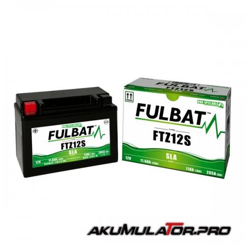 Акумулатор FULBAT FTZ12S SLA 12V 11Ah L+