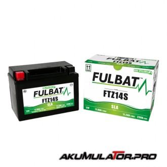 Акумулатор FULBAT FTZ14S SLA 12V 11.8Ah L+