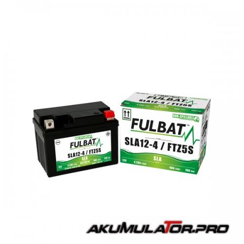 Акумулатор FULBAT FTZ5S SLA 12V 4.2Ah R+